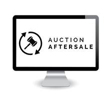 logo auction after sales